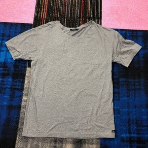 Obey N 89 Men's Medium Gray T Shirt